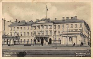 Finland Presidentin Linna Helsinki Presidentens Slott Helsingfors Postcard