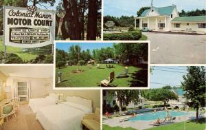 NY - Lake George. Colonial Manor Resort & Motel