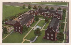 ROCKY MOUNT, North Carolina, 10-20s; Sunset Apartments
