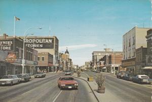 Main Street , MOOSE JAW , Saskatchewan , Canada, 50-70s