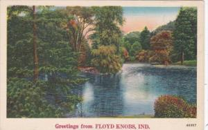 Indiana Greetings From Floyd Knobs