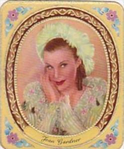 Garbaty Cigarette Card 1934 Modern Beauties No 280 Joan Gardner