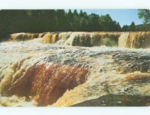 Unused Pre-1980 LOWER FALLS Tahquamenon Falls - Paradise Michigan MI E4169