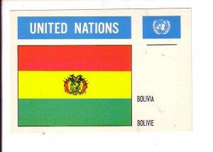 Bolivia Flag, United Nations