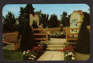 NY Pinocchio Story Book Garden NEWARK NEW YORK Postcard