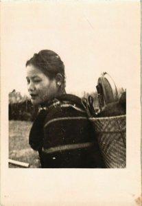 CPA AK INDOCHINA Real Photo on Postcard VIETNAM (956522)