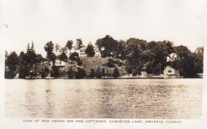 RP: CHRISTIES LAKE , Ontario, 1910-30s7 ; Red Cedar Inn & Cottages