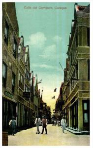 18566 Curacao 1915 Calle del Comercio