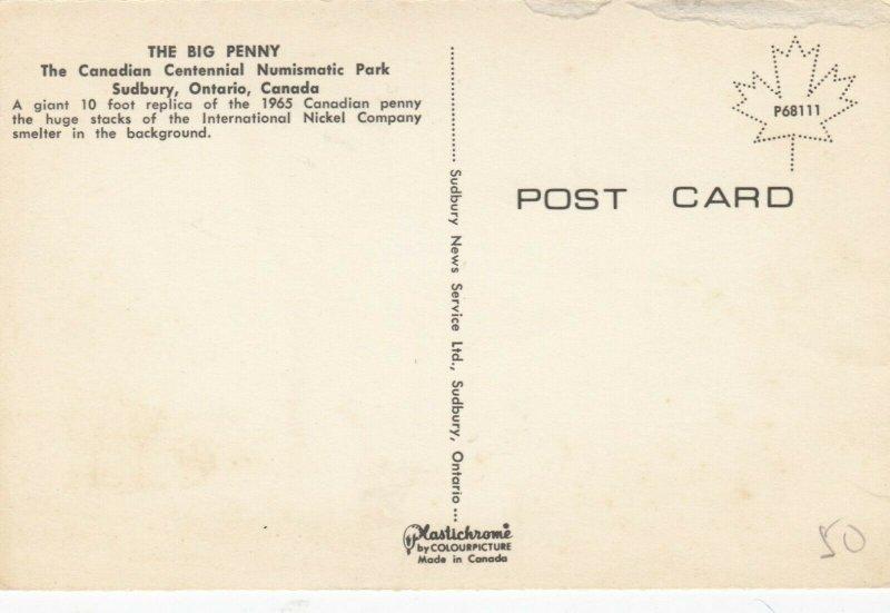 SUDBURY , Ontario, Canada, 40-60s;The Big Penny