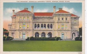 Rhode Island Newport The Breakers Cornelius Vanderbilt Eastate 1945