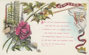 New York , 1900-10s; Empire State Poem