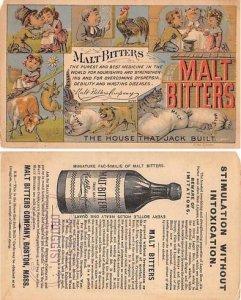 Victorian Trade Card Approx size inches = 3.25 x 5.25 Pre 1900 small paper ch...