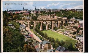 LUXEMBOURG; Vue Generale, Bridge, PU-1939