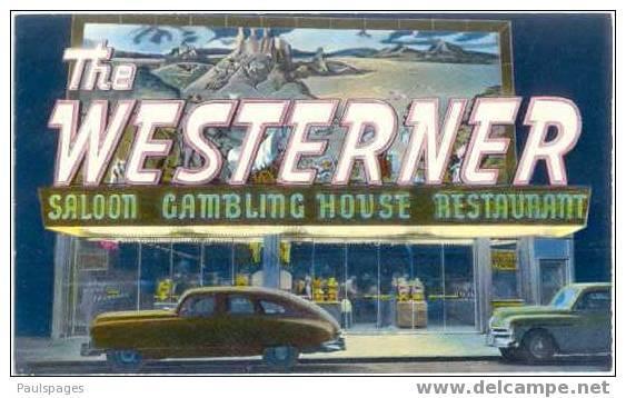 The Westerner Gambling House, Saloon, Slot Machines and Restaurant Las Vegas NV