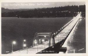 RP: SEATTLE , Washington , 1930-40s ; Floating Bridge