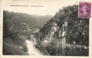 CPA ESPALION Gorges du Lot (174023)
