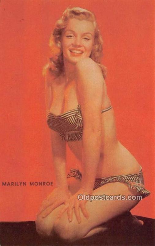 Marilyn Monroe Movie Star Actor Actress Film Star Unused