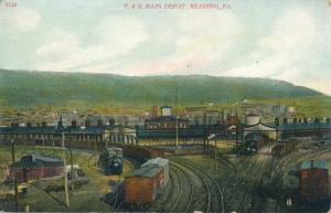 Main Depot Philadelphia and Reading Railroad - Reading PA, Pennsylvania - DB