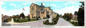 WASHINGTON, DC District of Columbia Double  Postcard FRANCISCAN MONASTERY C1920s