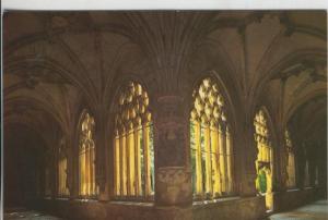 Postal 008495: Claustro gotico de la iglesia parroquial del Salvador en O?, B...