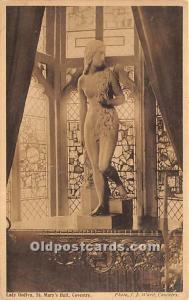 Nude Postcard Lady Godiva, St Mary's Hall, Coventry Unused