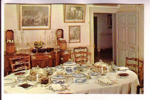 Interior, Dining Room, Mount Vernon, Virginia, Ladies Association