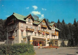 Poland Krkonose Spindleruv Mlyn Hotel Savoy Postcard