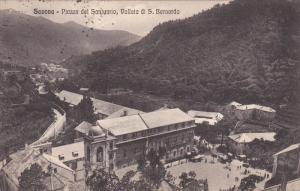 SAVONA, Liguria, Italy; Piazza del Santuario, Vallata di S. Bernardo, PU-1915