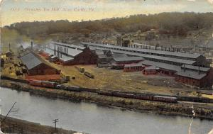 New Castle Pennsylvania~Shenango Tin Mill on the River of the Same Name c1910