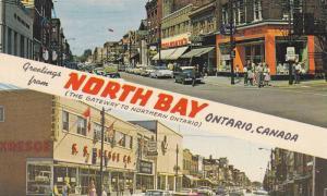 Main Street , NORTH BAY , Ontario, Canada , 1960-70s
