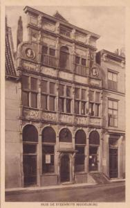 Huis de Steenrots Middelburg Zeeland Dutch Old Postcard