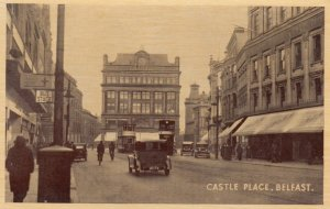 BELFAST , Northern Ireland , 1910-30s ; Castle Place