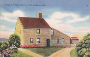 An Old Cape Cod House Built 1713 Cape Cod Massachusetts