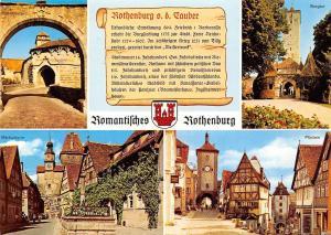 Romantisches Rothenburg, Burgtor Ploenlein Markusturm Spitalbastei