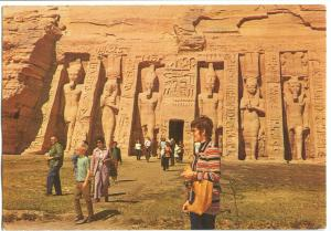 Egypt, The Temple of Abu-Sembel, Abu Simbel, unused Postcard