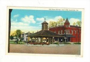 Old Slave Market, Louisville, Georgia, 1930-40s