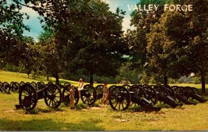 Pennsylvania Valley Forge Knox's Artillery