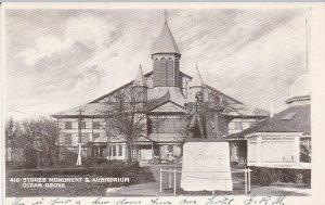 OCEAN GROVE , New Jersey , 1901-07 ; Stokes Monument & Auditorium