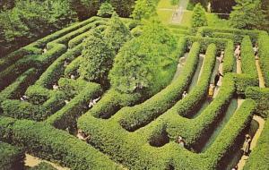 Virginia Williamsburg The Grovernor's Palace Maze