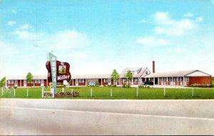 Ohio Toledo The Miller Motel 1957