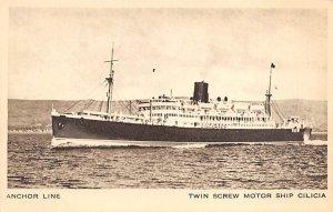Twin Screw Motor Ships Cilicia Anchor Line Ship Unused