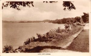 Luss Loch Lomond Lac Lake Promenade