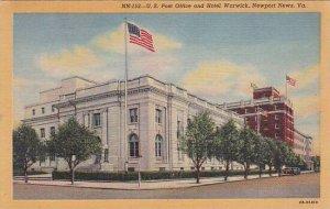 Virginia Newport News U S Post Office And Hotel Warwick
