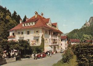 Germany Hotel Mueller Hohenschwangau mit Blick auf Schloss Neuschwanstein