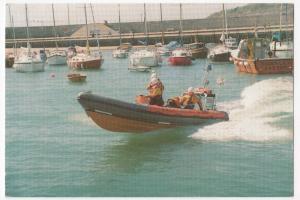 RNLI Lyme Regis Inflatable 'Atlantic' Class Lifeboat No B 546 PPC