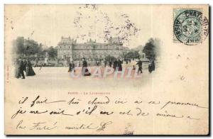 Paris - 6 - Luxembourg - Old Postcard
