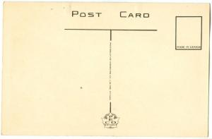 Canada, Sunken Gardens, McMaster University, Hamilton, 1920s unused Postcard
