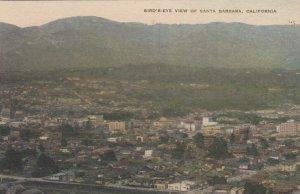 SANTA BARBARA , California , 1920-30s ; Bird's-Eye View
