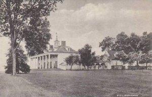 Virginia Mount Vernon North View Home Of George Washington Albertype