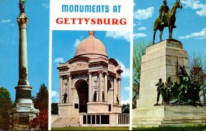 Pennsylvania Gettysburg Monuments New York State Pennsylvania and Virginia St...